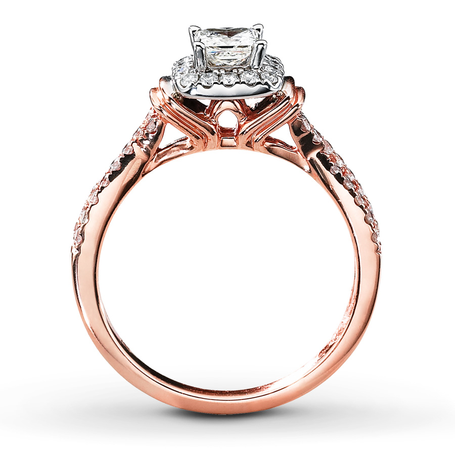 Diamond Engagement Ring 3/4 Ct Tw