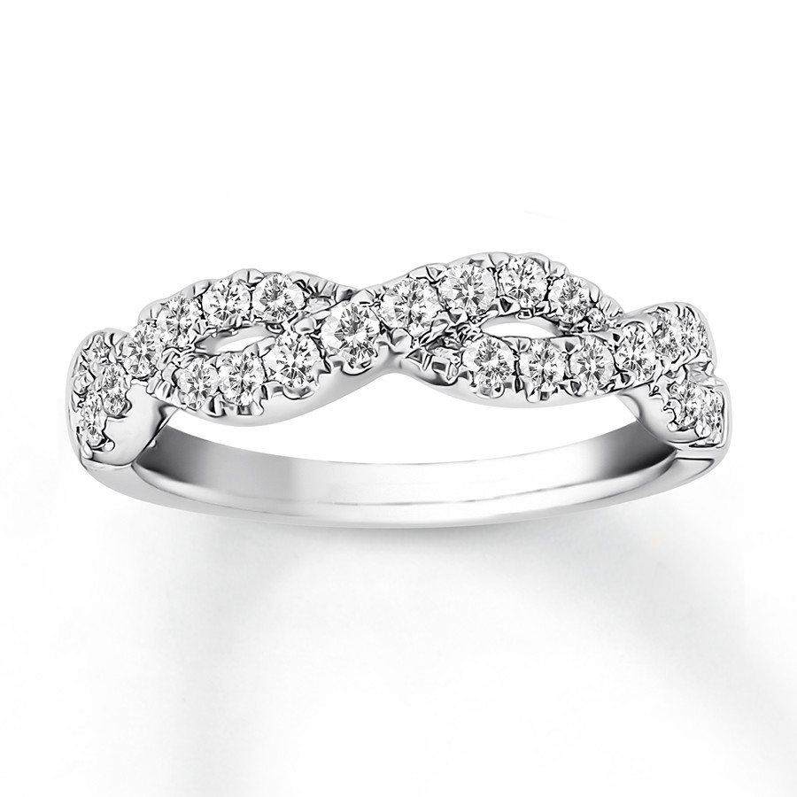platinum watch chloe in eternity diamond youtube anniversary band carat bands ring