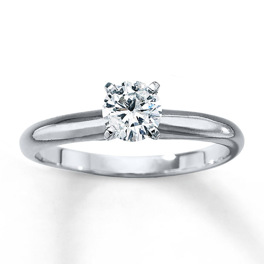 sterlingjewelers solitaire ring 1 2 carat