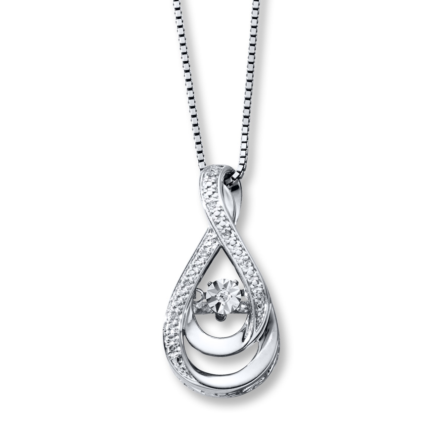 Infinity Necklace At Kay Jewelers