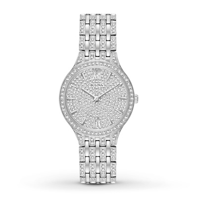 Bulova Women's Watch Crystals Collection 96L243 | Tuggl