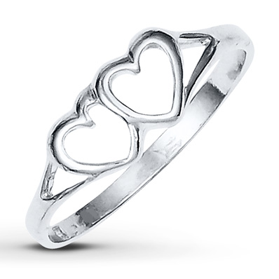 Heart Ring Sterling Silver   Tuggl