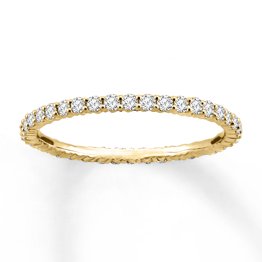 Leo Diamond Eternity Rings