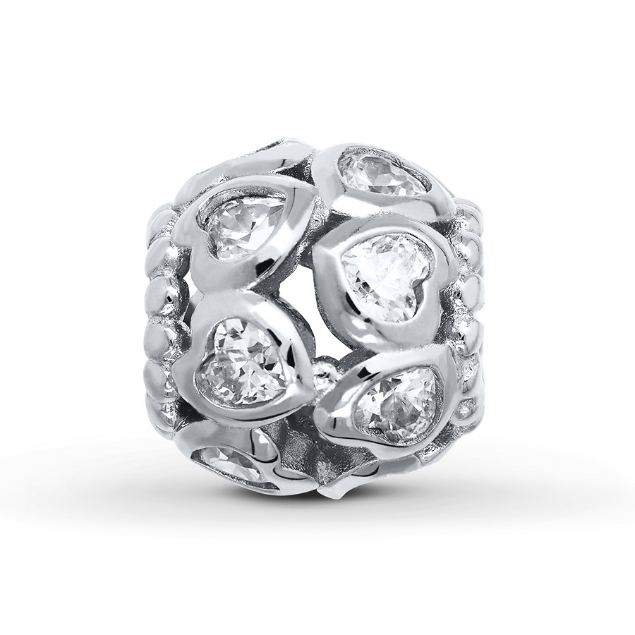 Charmed Memories Charm Yellow Cubic Zirconia Sterling Silver qwSJJuXEdF