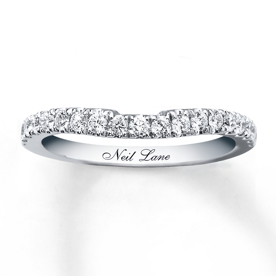 9b384415bae8 Neil Lane Wedding Band 3 8 ct tw Diamonds 14K White Gold. Tap to expand