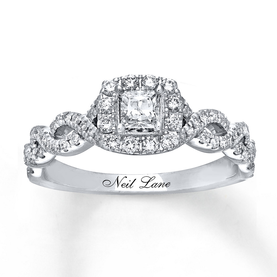 hover to zoom - Neil Lane Wedding Rings