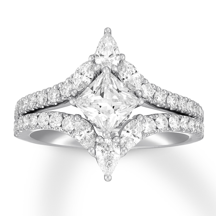 542174392 Neil Lane Diamond Bridal Set 1-7/8 cts tw 14K White Gold - 940388800 ...